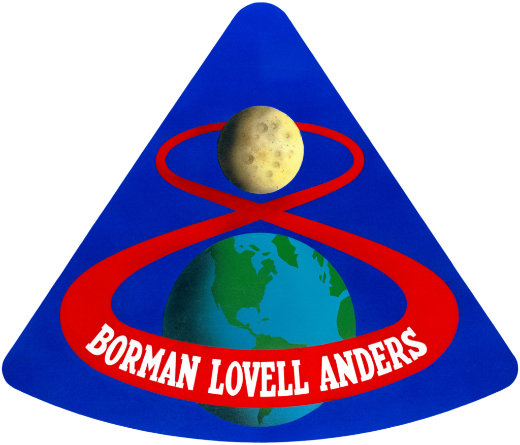 Apollo 8 -lennon logo